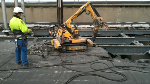Afbraakwerken en grondwerken De Meuter - Robots