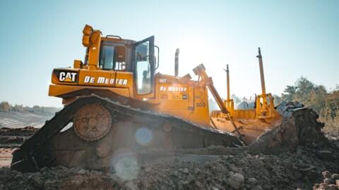 Afbraakwerken en grondwerken Demeuter - Bulldozers