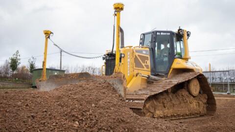 Afbraakwerken en grondwerken De Meuter - Bulldozers