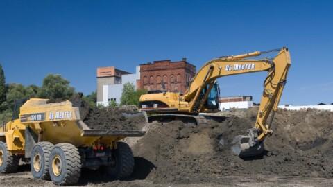 Afbraakwerken en grondwerken De Meuter - Dumpers