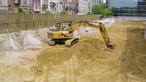 Afbraakwerken en grondwerken De Meuter - Graafmachines