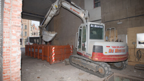 Afbraakwerken en grondwerken De Meuter - Minikranen