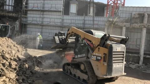 Afbraakwerken en grondwerken De Meuter - Miniladers