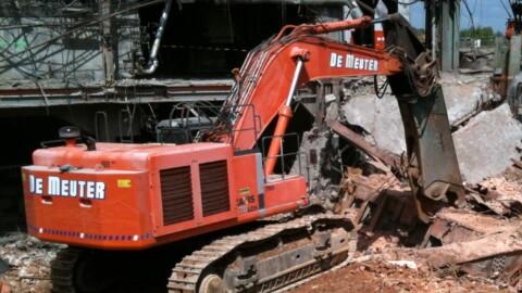 Afbraakwerken en grondwerken De Meuter - Zware sloopkranen